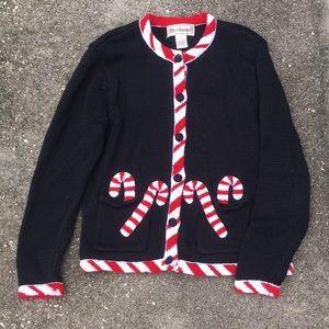 Vintage Bechamel Christmas cardigan